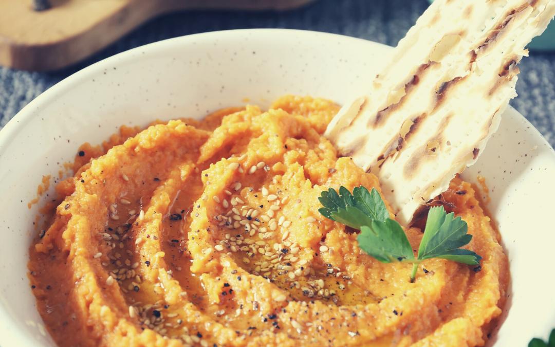 Receta de hummus de zanahoria